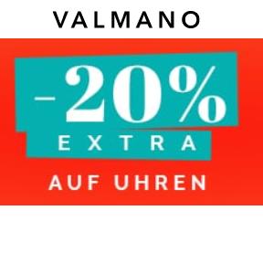 Bild zu VALMANO: 20% Extra-Rabatt auf bereits reduzierte Uhren