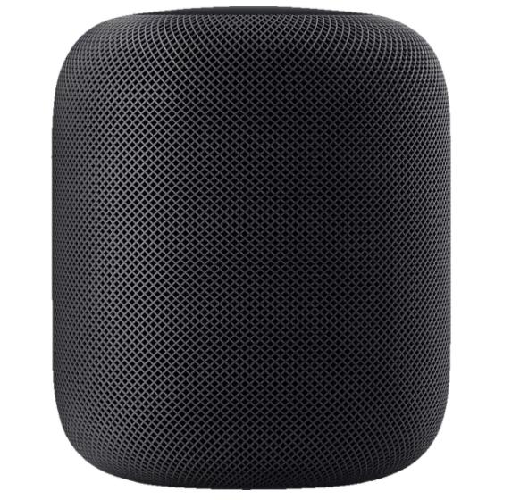 Bild zu APPLE HomePod Smart Speaker in Space Grau oder weiß für je 269€ (VG: 294,84€)