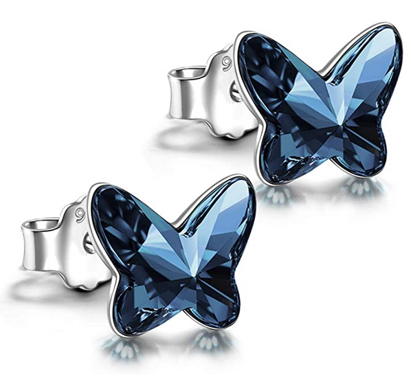 Bild zu Angel Nina Ohrringe mit Kristallen von Swarovski und einer exquisiten Geschenkbox für 8,99€