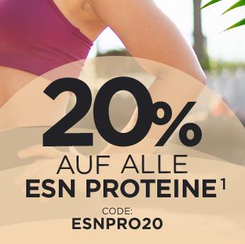 Bild zu Fitmart: 20% Rabatt auf alle ESN Proteine