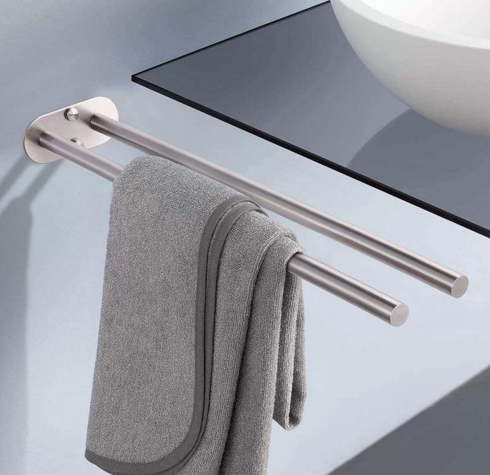 Bild zu Dalmo Handtuchhalter zweiarmig für 14,99€