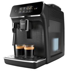 Bild zu PHILIPS EP2220/40 Kaffeevollautomat Mattschwarz für 281,71€ (Vergleich: 343,30€)