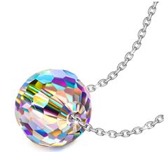 Bild zu Alex Perry Fantastic World Damen Halskette (925 Sterling Silber, Kristall von Swarovski) für 9,99€