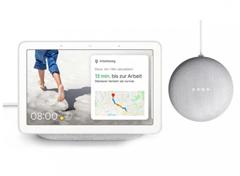 Bild zu Google Nest Hub + gratis Google Nest Mini für 78€ (Vergleich: 108,44€)