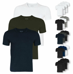 Bild zu 3er Pack HUGO BOSS Herren T-Shirts in unterschiedlichen Ausführungen für je 29,99€ (Vergleich: 39,95€)