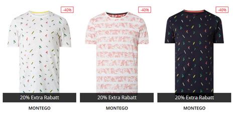 Bild zu verschiedene Montego T-Shirts für 4,79€ inklusive Versand