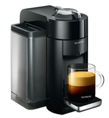 Bild zu DeLonghi ENV 135.B Vertuo Plus Nespressomaschine für 29,90€ (Vergleich: 54,90€)