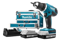 Bild zu Makita DF457DWEX6 Akkuschrauber Set (2x 1,3Ah Akku + 102-teiligem Zubehör im Koffer) für 188,95€ (Vergleich: 228,61€)