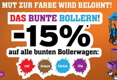Bild zu Fuxtec: 15% Rabatt auf alle bunten Bollerwagen
