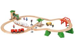 Bild zu BRIO World Travel City Set (41-teilig) für 47,85€ (Vergleich: 63,68€)