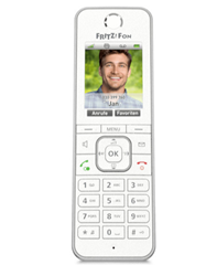 Bild zu Dank 15€ Newsletter-Gutschein: AVM Mobilteil »FRITZ!Fon C6 Mobilteil« für 54,95€
