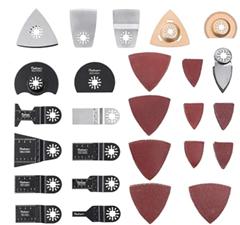 Bild zu Universal Multitool Sägeblätter für Bosch, Craftsman, Chicago Electric, Dremel und mehr (66-teilig) für 16,31€