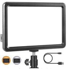 Bild zu RALENO LED Studiolicht (Ultradünn, CRI 95+, Eingebaute 5000mA Lithium-Batterie, 3200K-6500K, für alle DSLR Kameras) für 23,32€