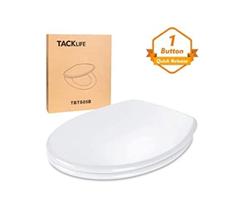 Bild zu Tacklife O-Form Toilettensitz mit Absenkautomatik für 24,99€