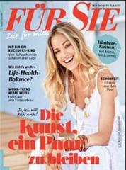 """Bild zu Jahresabo (24 Ausgaben) Zeitschrift """"Für Sie"""" für 85€ bei Bankeinzug + bis zu 85€ Prämie"""