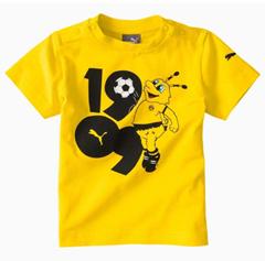 Bild zu Puma BVB Minicats Graphic Kinder T-Shirt für 9,70€ (Vergleich: 18,51€)