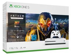 Bild zu Xbox One S 1TB – Anthem Legion of Dawn Bundle für 197,86€ (Vergleich: 278,96€)