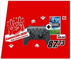 Bild zu Nintendo Switch Pro Controller + Xenoblade Chronicles: Definitive Edition für 87,73€ (Vergleich: 98,92€)