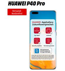 Bild zu Huawei P40 Pro für 47,77€ mit 18GB LTE Datenflat, SMS und Sprachflat im Vodafone-Netz für 34,99€/Monat