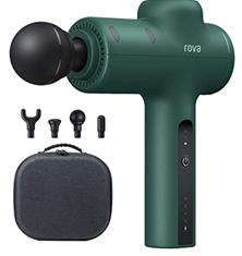 Bild zu Rova Massagepistole (mit 4 Massageköpfen und 3 Geschwindigkeiten) für 59,99€