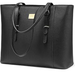 Bild zu LOVEVOOK Laptop Damen Handtasche (15.6 Zoll, Kunstleder) für 22,99€