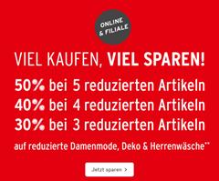 Bild zu Ernsting´s Family: bis zu 50% Extra Rabatt auf bereits reduzierte Artikel (abhängig von der Bestellmenge)
