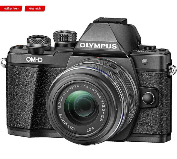 Bild zu OLYMPUS OM-D E-M10 Mark II Systemkamera 16.1 Megapixel mit Objektiv 14-42 mm f/3.5-5.6, 7,6 cm Display Touchscreen, WLAN für 388,95€ (VG: 437,68€)
