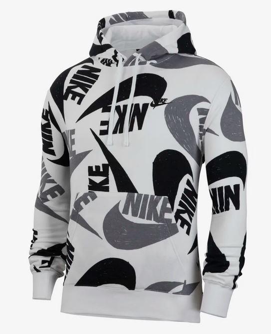 Bild zu Nike Sportswear Club French-Terry-Hoodie für Herren für 34,10€ (VG: 51€)