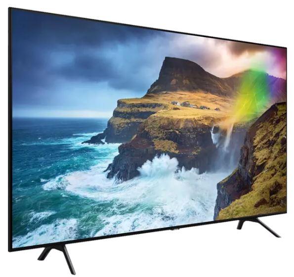 Bild zu SAMSUNG GQ65Q70RGTXZG QLED TV (Flat, 65 Zoll / 163 cm, UHD 4K, SMART TV) für 944,58€ (VG: 1189€)