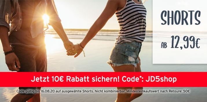 Bild zu Jeans Direct: 10€ Rabatt auf ausgewählte Shorts