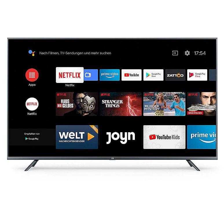 Bild zu MediaMarkt: alle XIAOMI Mi Smart TV 4S zu Bestpreisen – z.B. 43″ Variante für 246,60€ (VG: 339€)