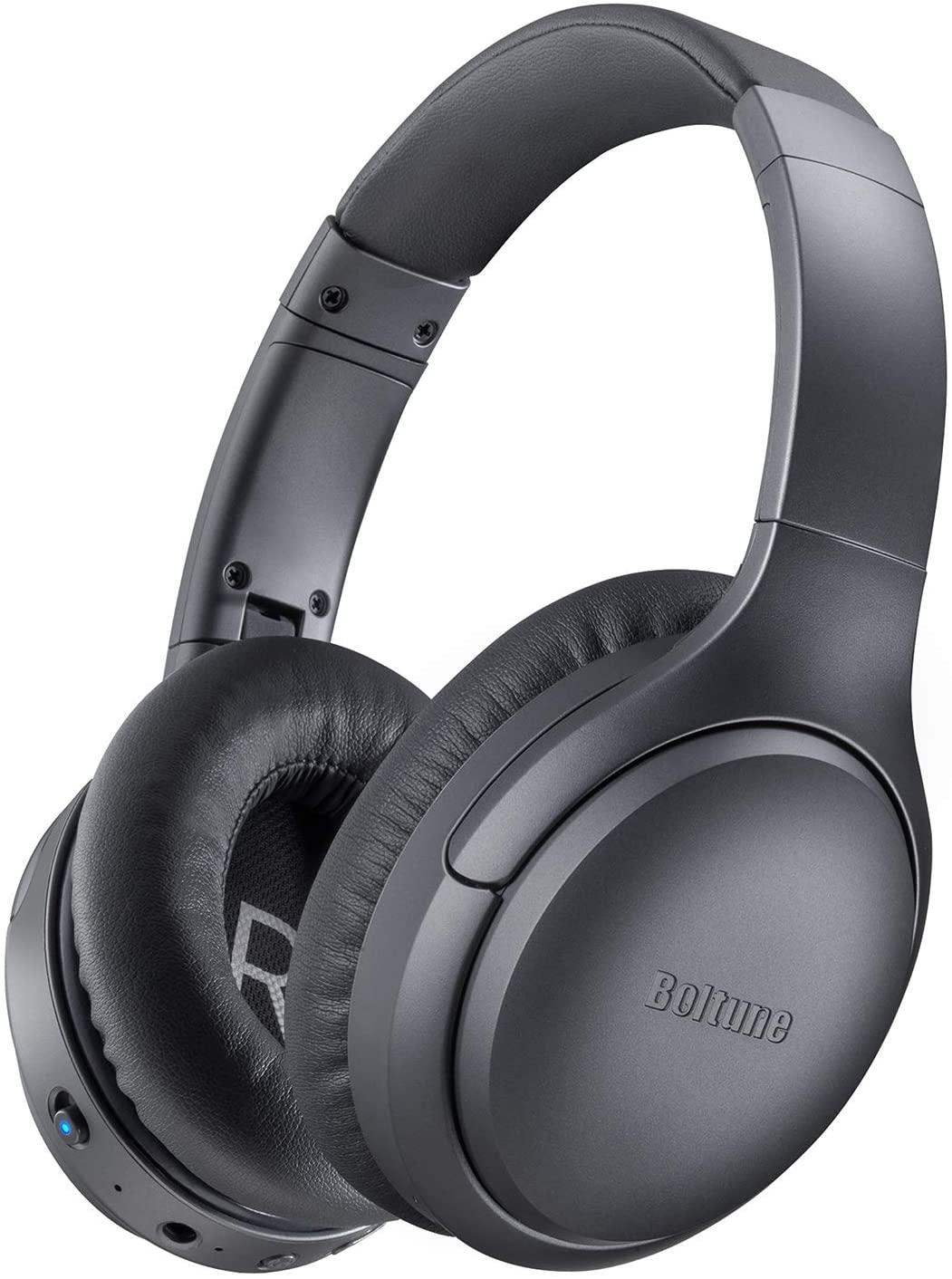 Bild zu Boltune Wireless Bluetooth 5.0 Over-Ear Earphones mit Active Noise Cancelling für 19,99€