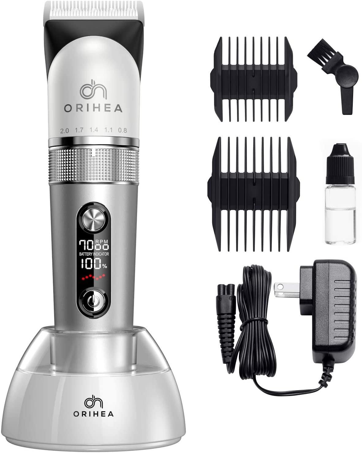 Bild zu Kabelloser OriHea Akku-Haarschneider für 23,99€