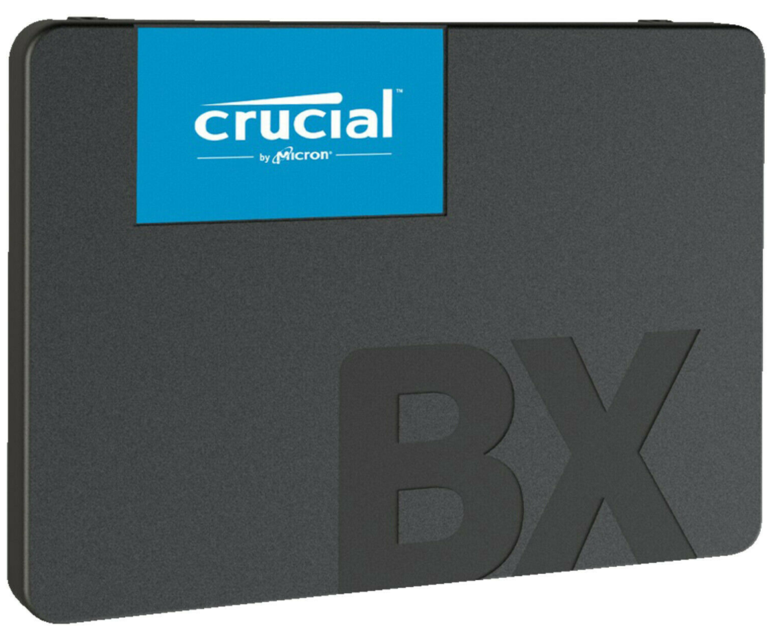 Bild zu CRUCIAL BX500, 480 GB SSD, 2.5 Zoll, intern für 40,47€ (VG: 48,56€)