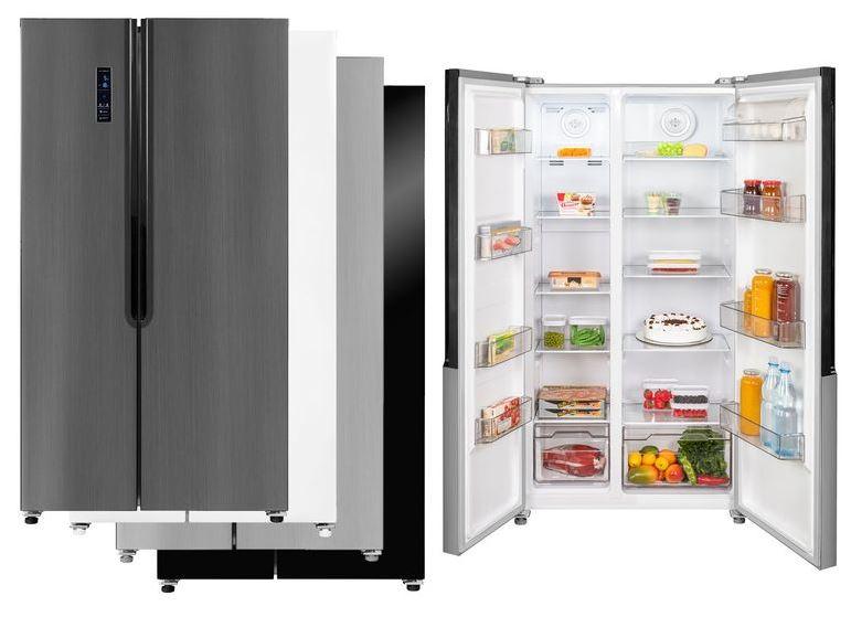 Bild zu exquisit Side-by-Side 160-4X A++ Kühlschrank schwarz oder andere Farben für je 634,45€ (VG: 849€)