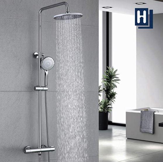 Bild zu HOMELODY Duschsystem mit Regendusche für 89,99€