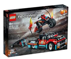 Bild zu LEGO® Technic 42106 Stunt-Show mit Truck und Motorrad für 30,72€ (Vergleich: 39,76€)