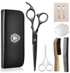 Bild zu PLYRFOCE Haarschneideschere Set für Damen oder Herren ab 7,59€