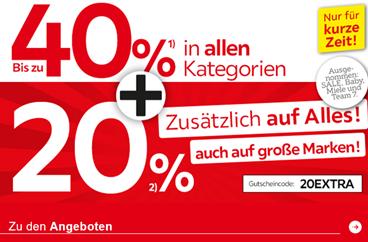 Bild zu XXXLutz: bis zu 40% Jubiläumsrabatt + 20% Extra-Rabatt