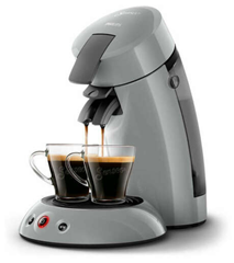Bild zu PHILIPS Senseo Original HD6553/70 Kaffeepadmaschine grau ab 35,99€ (Vergleich: 52,95€)