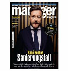 Bild zu [Leserservice Deutsche Post] Jahresabo Manager Magazin für 106,39€ + bis zu 95€ Prämie