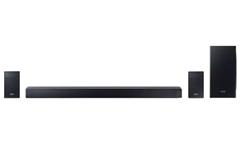 Bild zu Samsung HW-Q90R 7.1.4-Kanal-Soundbar schwarz Wireless Sub und Dolby Atmos für 778,87€ (Vergleich: 893,90€)