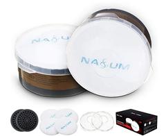 Bild zu NASUM Filter gegen Partikel und Organische Dämpfe, Filterbaumwolle (2 Paar/ 4 Stück) + Filterdeckel + Filter (1 Paar/2 Stück) für 11,89€