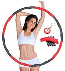 Bild zu SGODDE Hoola Hoop Reifen mit Schaumstoff und Gewichten für 16,89€