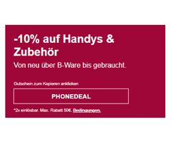 Bild zu [endet heute] eBay: 10% Rabatt auf Handys & Zubehör