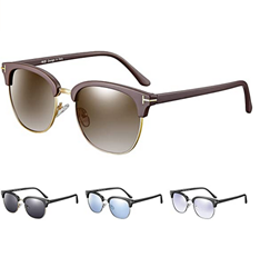 Bild zu rezi Unisex UV400 Polarisierte Retro-Sonnenbrille (17 Farben, 4 Modelle) für 5,99€