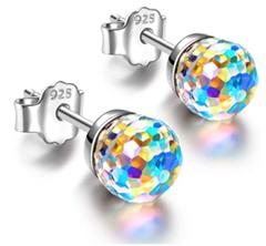 Bild zu Alex Perry 925 Sterling Silber aurore Boreale Ohrringe (Swarovski Kristall) für 9,99€