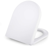 Bild zu Dalmo Universal D-Form WC Sitz mit Soft Close Absenkung für 19,99€