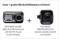 Bild zu NEXTBASE 422GW Dashcam QHD + NEXTBASE NBDVRS2RFCZ Rückfahrkamera für 183,26€ (Vergleich: 262,73€)
