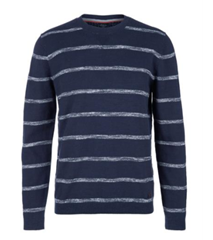 Bild zu s.Oliver Strickjersey-Pullover in Blau für 19,89€ (Vergleich: 31,94€)